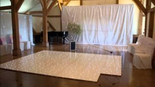 Wedding Venue Lighting @ Sandhole Oak Barn