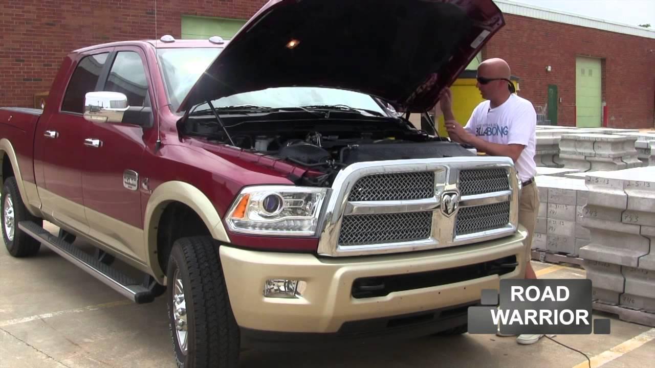 2013 Dodge Ram 2500, Turbo Diesel, MegaCab - YouTube