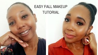 How To: Easy fall makeup Tutorial | Roxie Stars