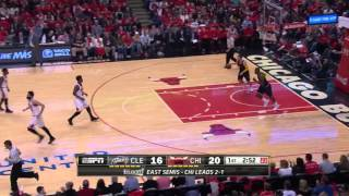 NBA, playoff 2015, Cavaliers vs. Bulls, Round 2, Game 4, Move 9, Jimmy Butler, 2 pointer