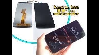 "Alcatel Idol 3 5.5"" OT 6045 LCD Screen & Digitizer Replacement / замена экрана | Selekt"