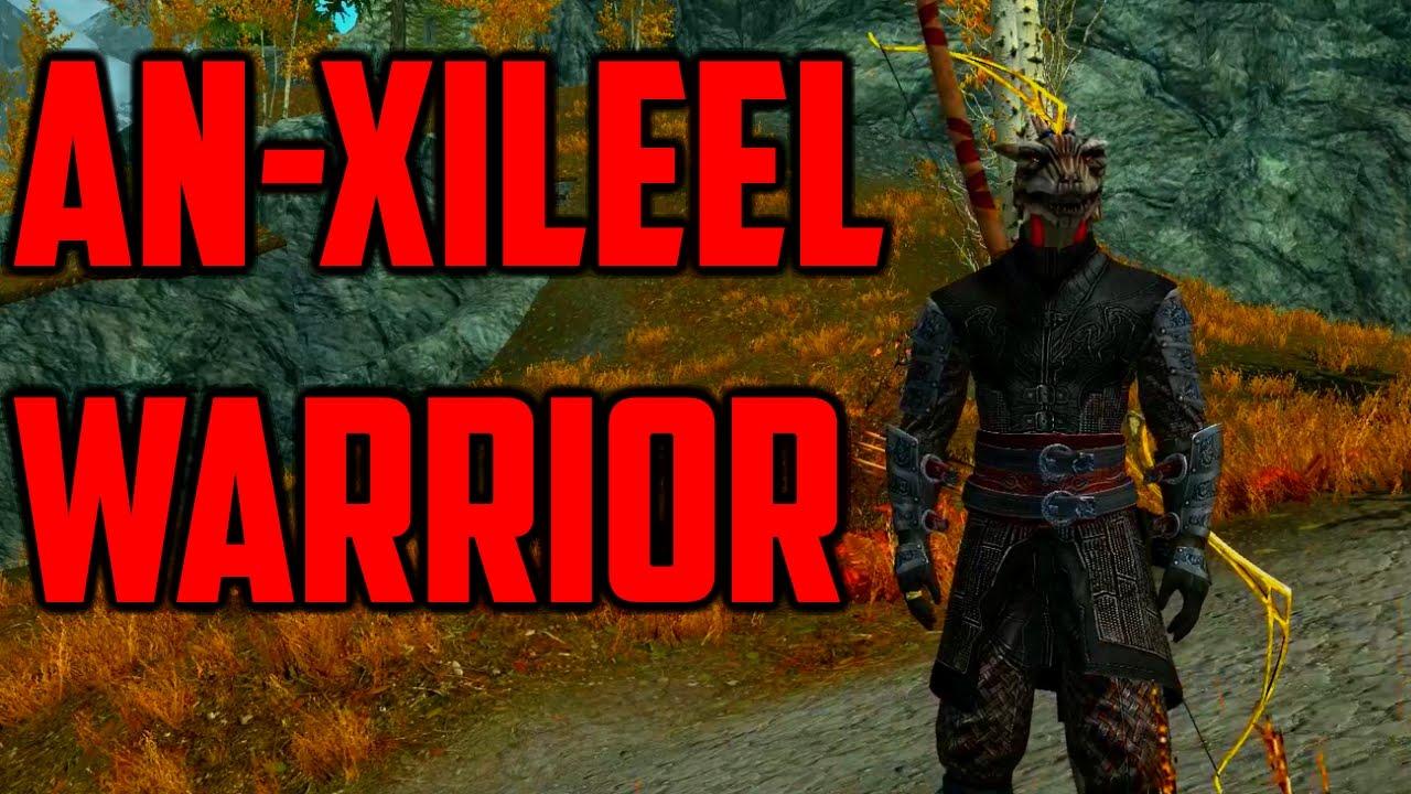 Skyrim An Xileel Warrior Youtube