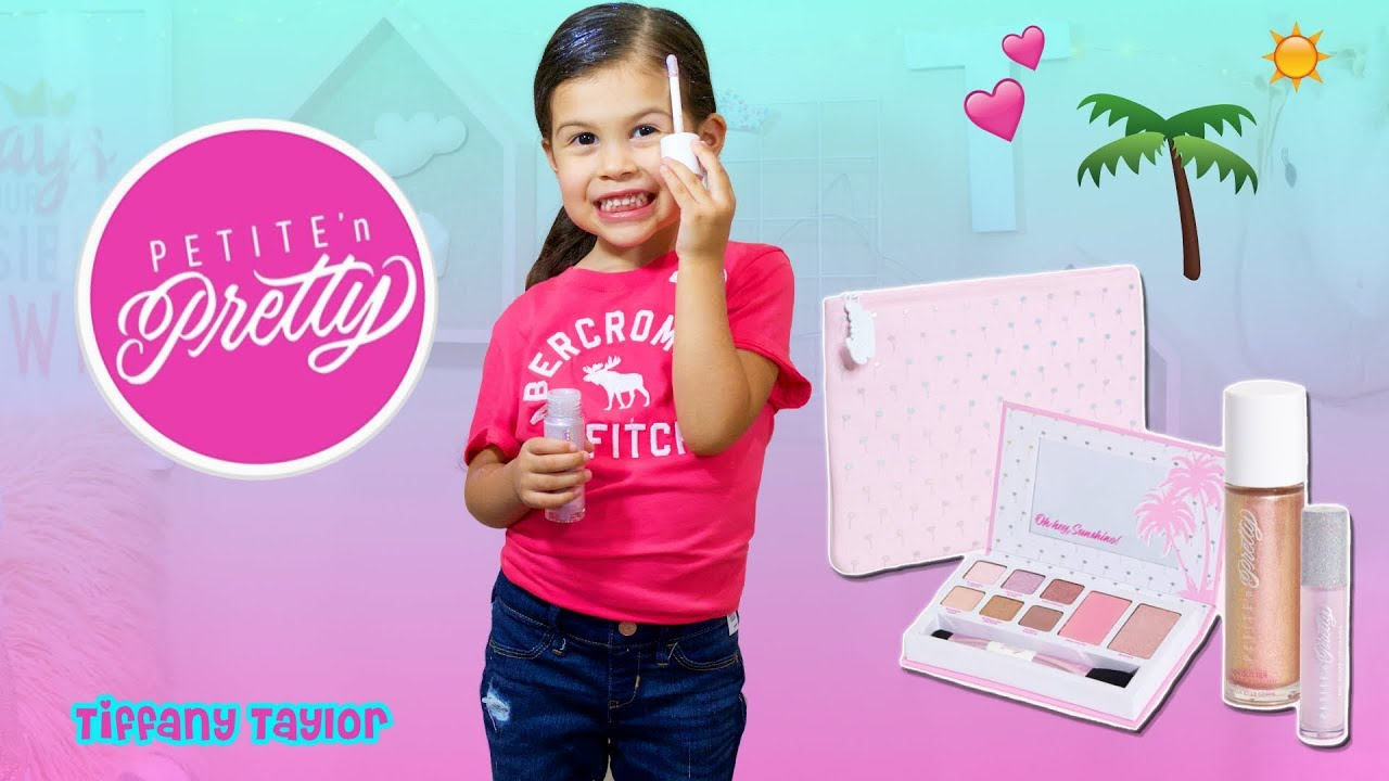 Best Kids Makeup Unboxing Review Petite N Pretty Back To School