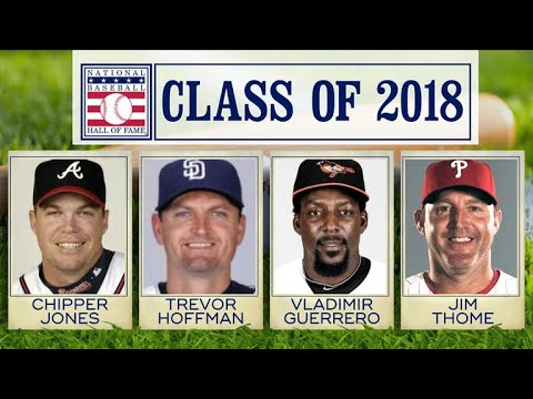 Baseball Hall of Fame class of 2018 announced