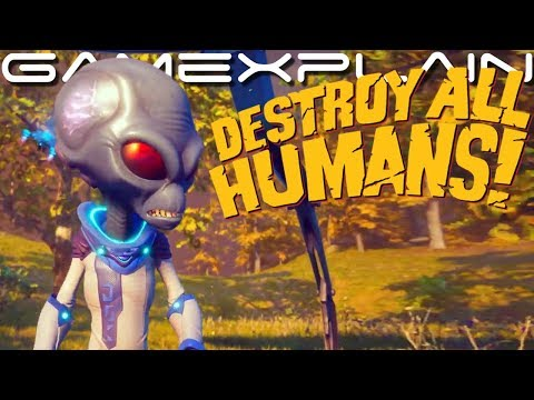 12 Minutes of Destroy All Humans! Remake Gameplay – DIRECT FEED