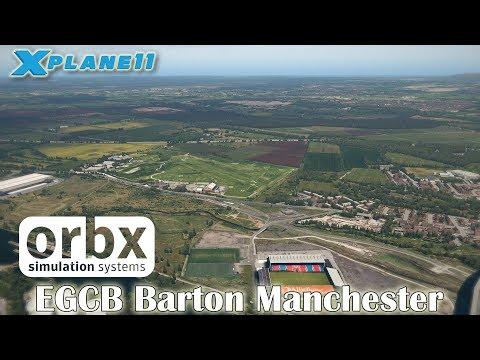 Orbx EGCB Barton Manchester for X-plane 11
