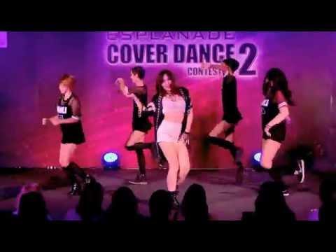 150614 KaToEi cover Jun Hyo Seong - Into you + Good-night Kiss @Esplanade Cover Dance #2 (Audition)