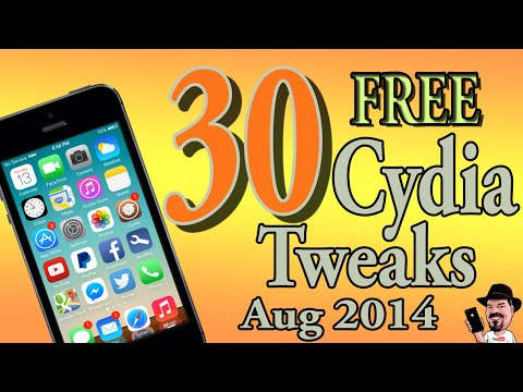 Best Top 30 ''FREE'' Cydia Tweaks For iOS 7.1.2 [Latest Releases]  Aug 13, 2014
