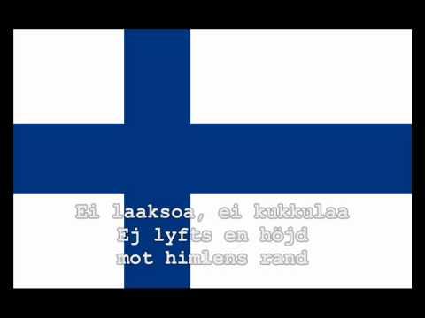 National Anthem of Finland Instrumental with lyrics