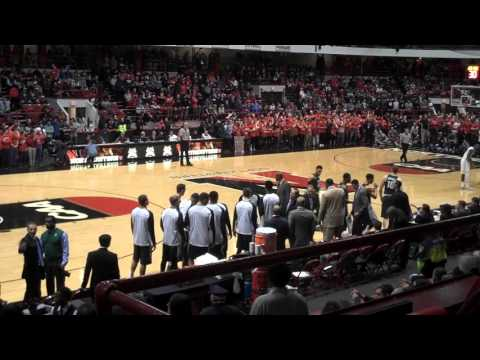 Michigan State vs. Northeastern - opening tip 12.19.15 - Matthews Arena, Boston