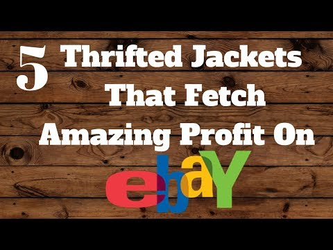 5 Thrifted Jackets That Can Fetch Big Money On Ebay!