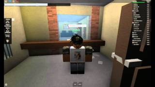 Roblox Realistic Rp (RRP) Getting in the cop Station