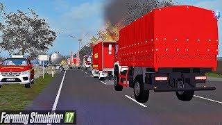 GRÖßTER Katastrophen Feuerwehreinsatz