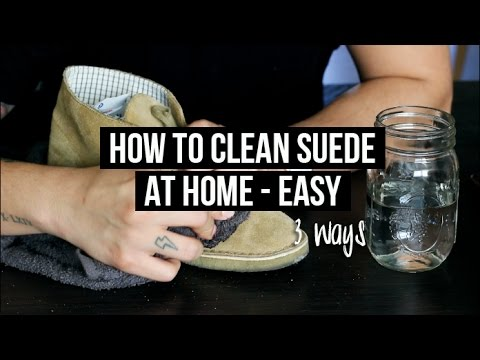 HOW TO CLEAN   MAINTAIN SUEDE SHOES (AT HOME) - 3 EASY WAYS ... e394bd916