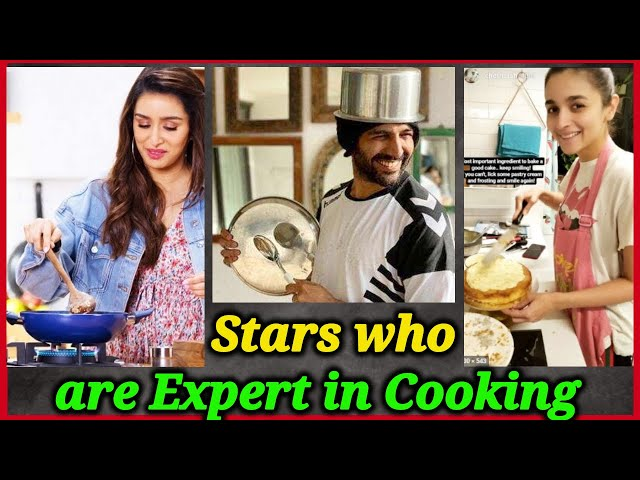 Bollywood Celebrities Who Can Cook well