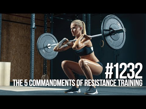 #1232 | The 5 Most Important Resistance Training Principles
