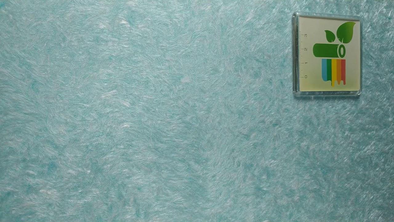Бирюзовые жидкие обои фото отделка комнат