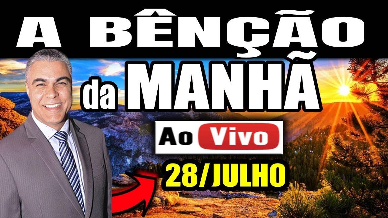 LIVE DE ORAÇÃO DIA 28 DE JULHO 🔴 🙏🔥| Quarta-feira