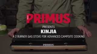Kinjia - 2-burner gas stove for advanced campsite cooking
