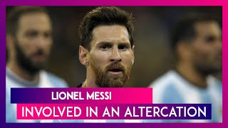 Lionel Messi Involved in an Ugly Spat With a Stranger While Partying in Ibiza