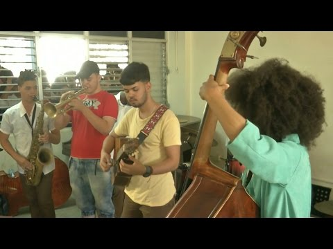 World musicians meet in Cuba to jam for International Jazz Day