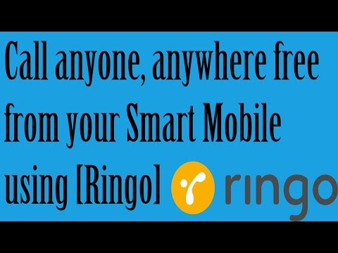 Call Anyone, Anywhere Free From Your Smart Mobile Using [Ringo] 100% Working 2015
