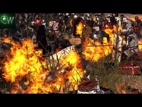 BATTLE OF HATTIN! 2v2 Medieval Kingdoms 1212 (EPIC BATTLE SERIES)