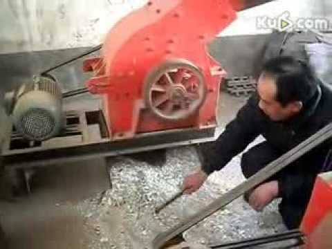 shanghai hammer crusher  small hammer mill with competitive price for gold mining plant锤式破碎机视频