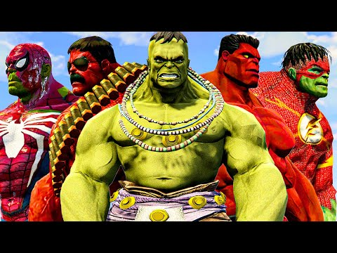 Download The Incredible Hulk   Spider-Hulk & Ultimate Hulk & Red Hulk - What If