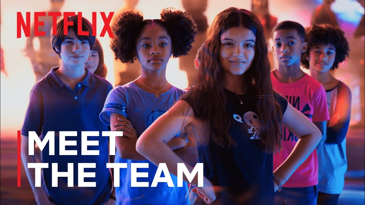Download Meet the Team in We Can Be Heroes | Netflix Futures