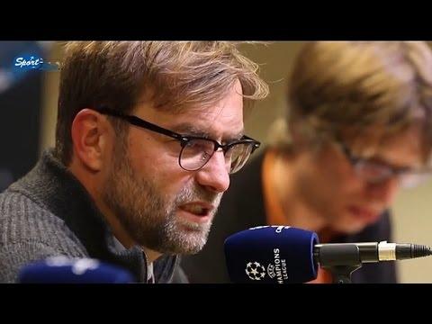 Pressekonferenz UEFA-CL nach BVB - Anderlecht 1:1 Pk mit Jürgen Klopp