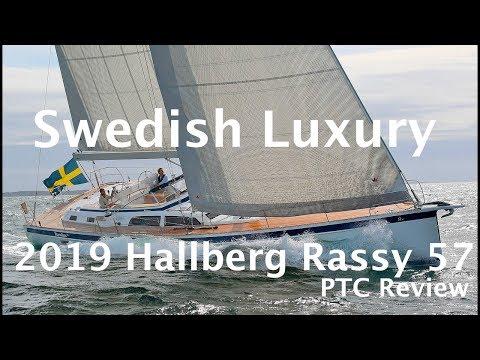 Hallberg Rassy 57 Sailboat Tour 2019 (PTC Review) - YouTube