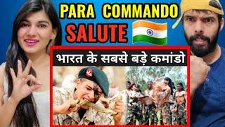 ये है भारत के सबसे बड़े कमांडो  Para Commando Training  n  ndia 😱🔥 Reaction video