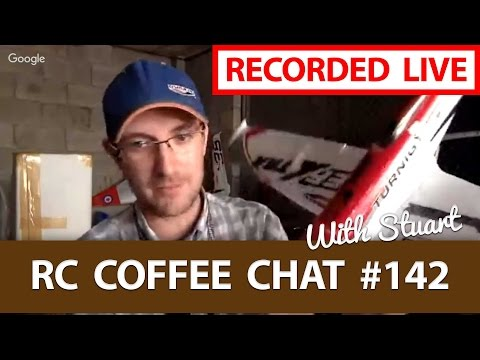 🔴 LIVE Interview with Stuart Warne From HobbyKing - ☕ RC Coffee Chat #142