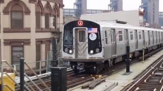 Myrtle Ave-Broadway (BMT Jamaica Line) Action!