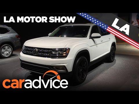 2017 Volkswagen Atlas | 2016 Los Angeles Motor Show