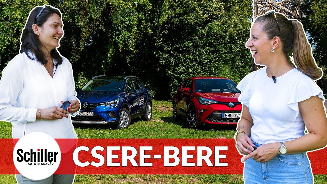 Crossoverek, női szemmel I Toyota C-HR vs Renault Captur I Schiller TV