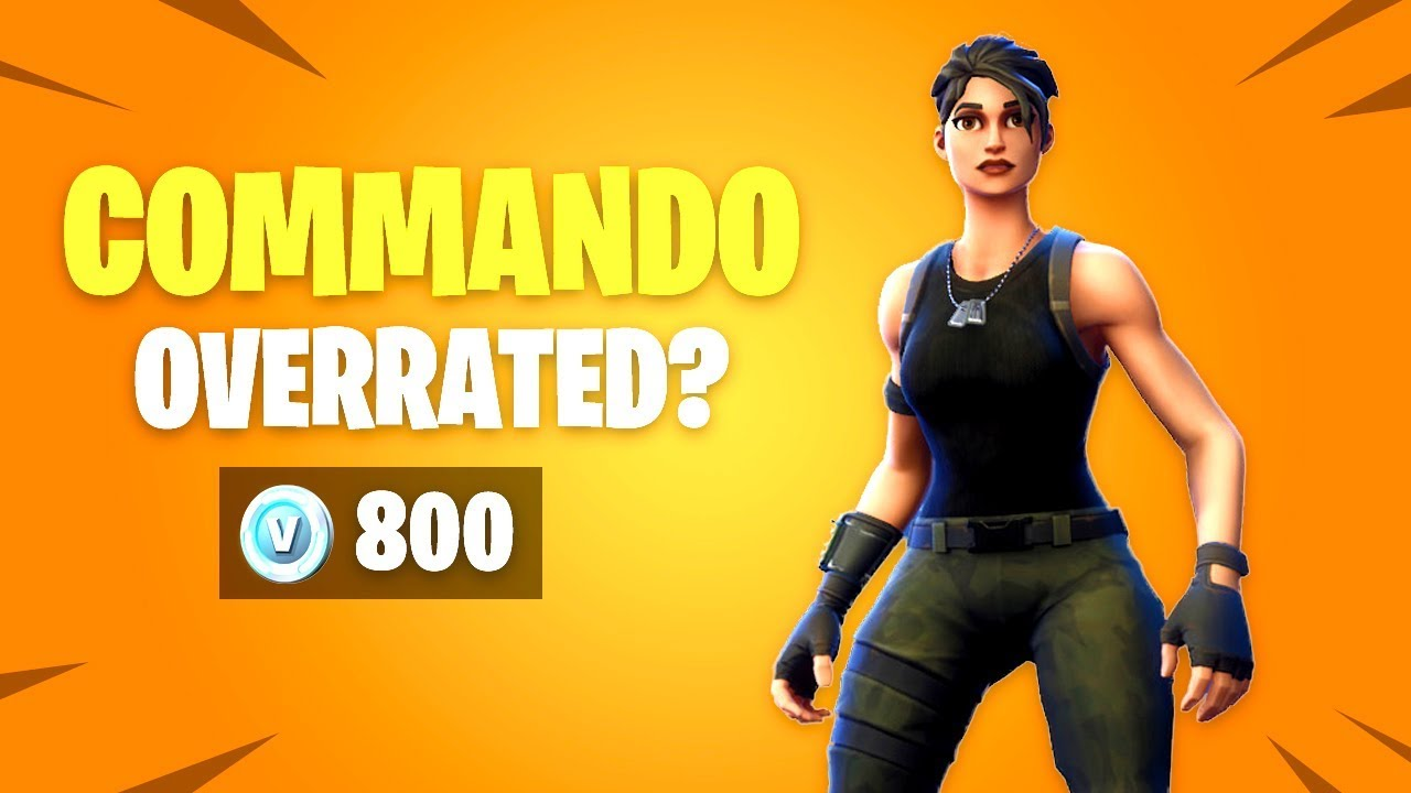 is commando skin overrated fortnite battle royale daily items update - fortnite commando renegade