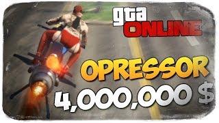 GTA ONLINE - КУПИЛ OPRESSOR MK II ЗА 4000000$ #374