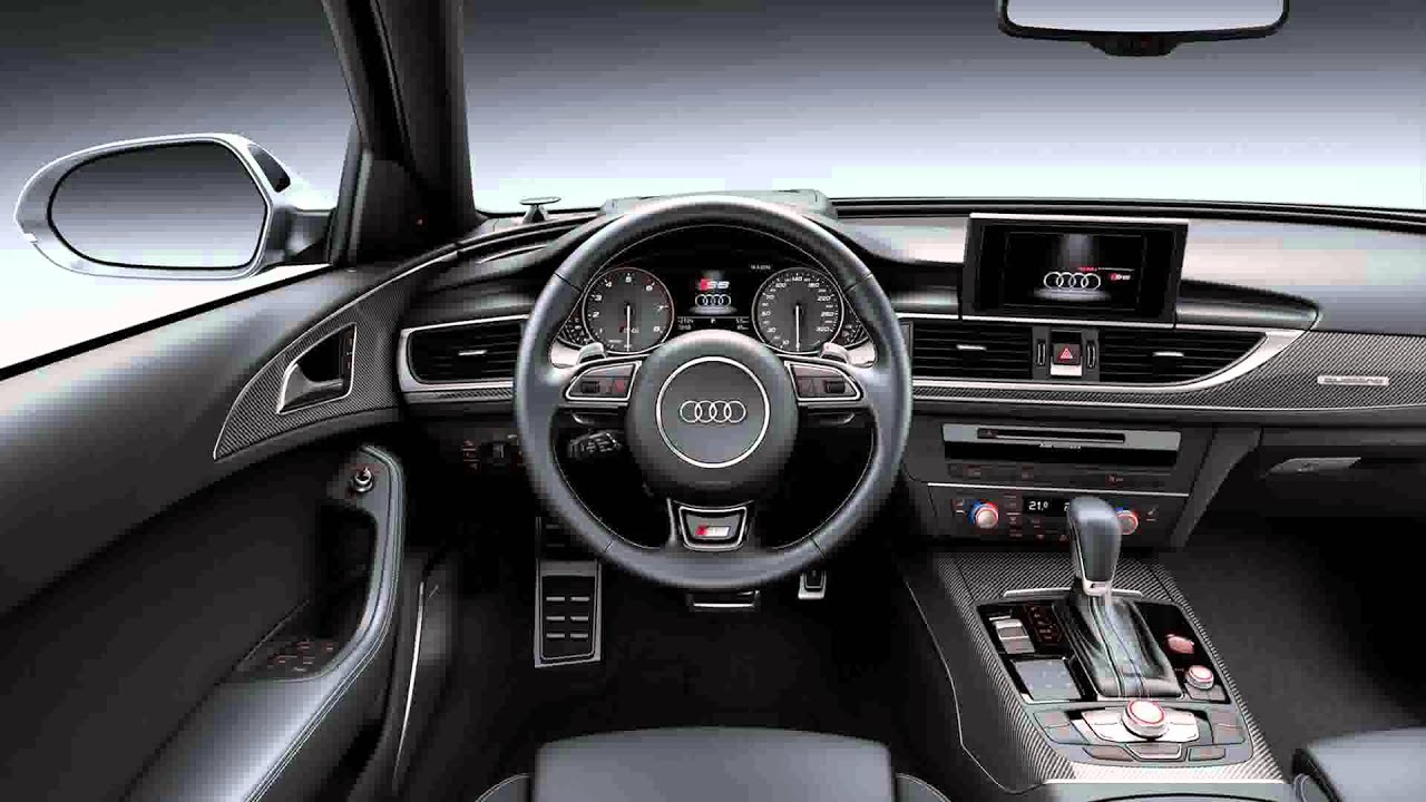 Audi Rs6 Inside >> 2015 model audi a6 facelift - YouTube