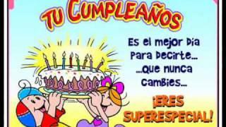 Feliz Cumpleaños (Las Mañanitas - Alejandro Fernandez)