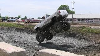 thunderstruck huge run 2 at berville hill and hole mud bog 2016
