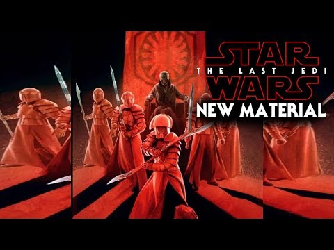 Star Wars The Last Jedi NEW Material Revealed