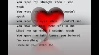 celine-dion---because-you-loved-me-mp3