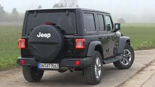 2020 Jeep Wrangler JL 2.0L 4door Sahara (272 HP) TEST DRIVE