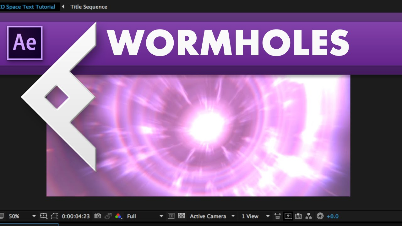 Creating a Wormhole Scene in After Effects