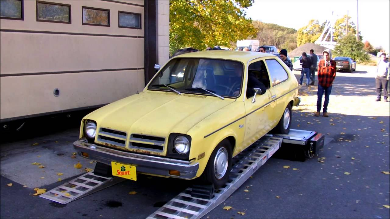 "... Chevette ""Squirt"" Dyno - Sloppy Mechanics Fall Dyno Day 2013 - ..."