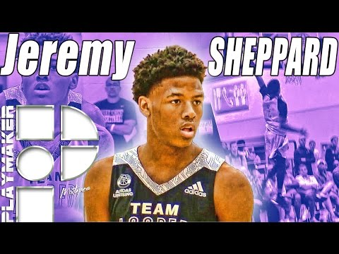 Jeremy Sheppard Has A Mean Pull-Up Game! ECU Bound!