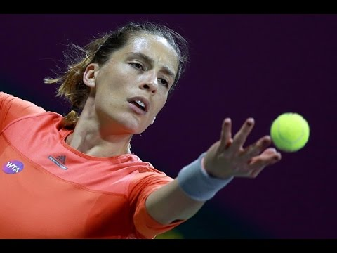 2016 Qatar Total Open Quarterfinal | Andrea Petkovic vs Garbine Muguruza | WTA Highlights