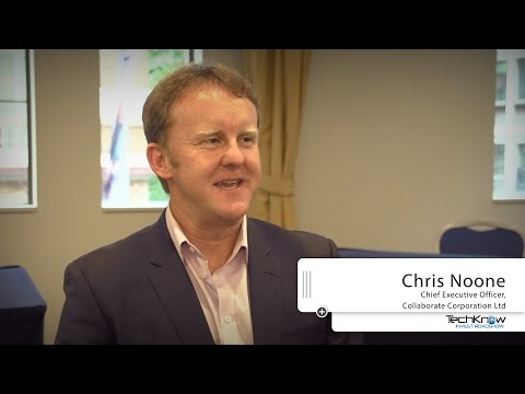 Collaborate Corporation Ltd - Chris Noone CEO - TechKnow Conference 22nd October Sydney